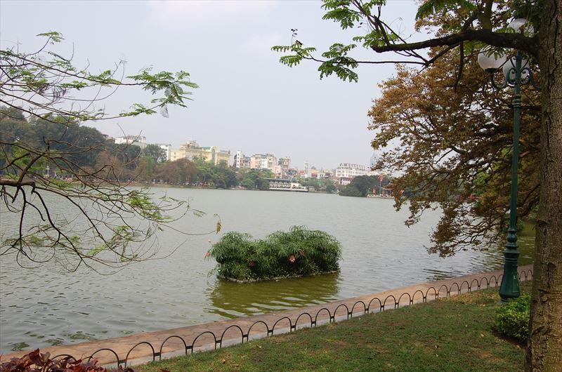 【ハノイ】ホアンキエム湖