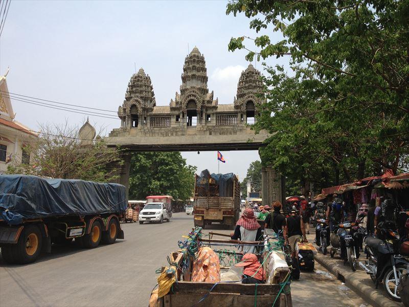 「【カンボジア】旅のルートと移動情報」のアイキャッチ画像