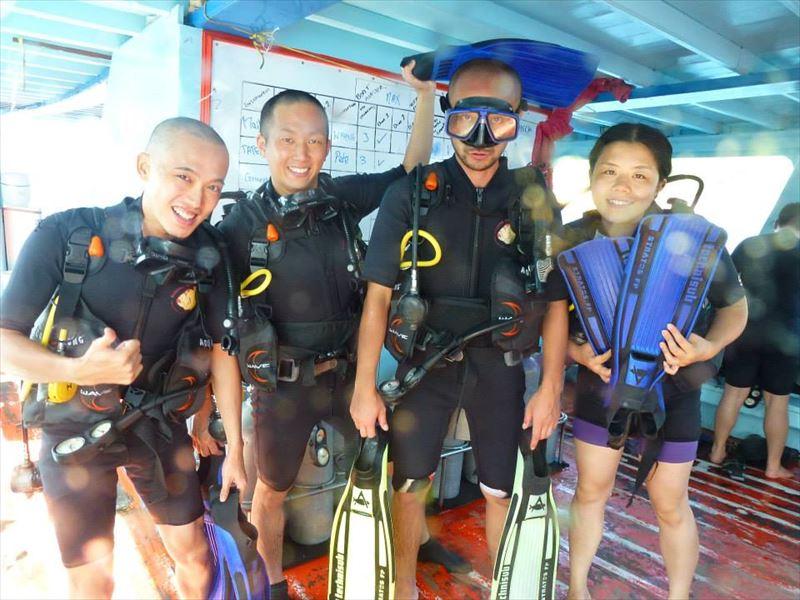 【タオ島】ダイビング