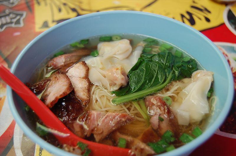 【クアラルンプール】ワンタン麺