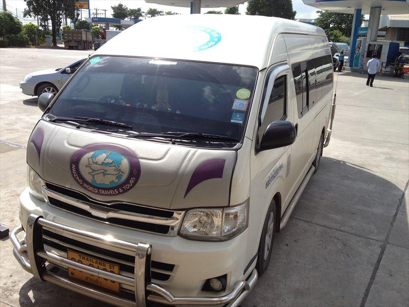 【タイ】バンコク⇒カンボジア・シェムリアップ