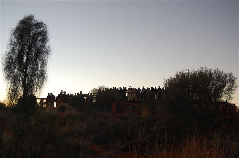 【オーストラリア】エアーズロックのサンライズ観光