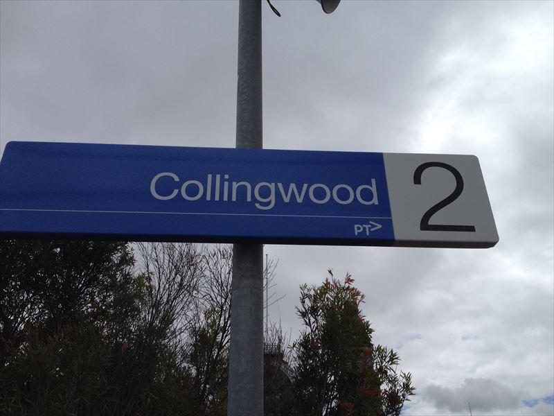【メルボルン】collingwood