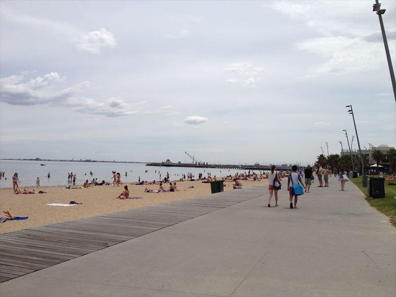 【メルボルン】セントキルダビーチ