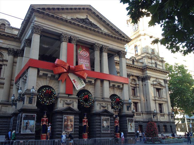 【メルボルン】クリスマスの街並み