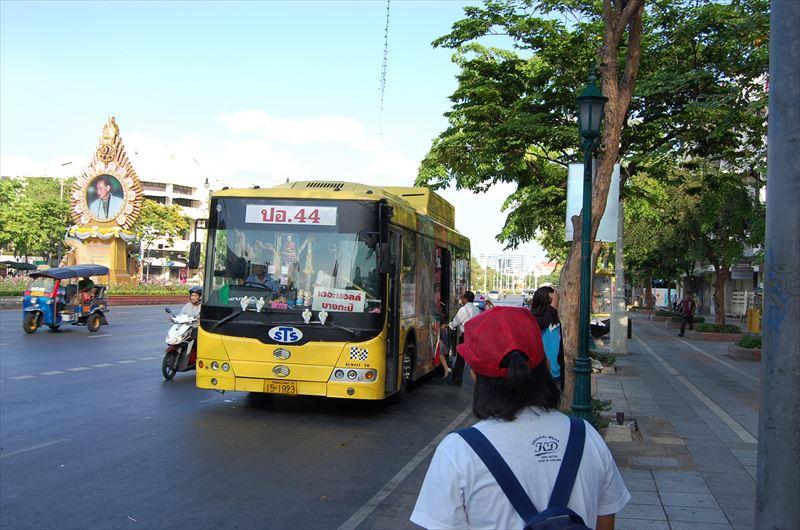 【バンコク】市バス