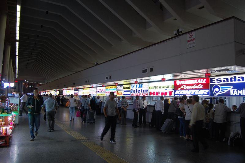【アンカラ】バスターミナル