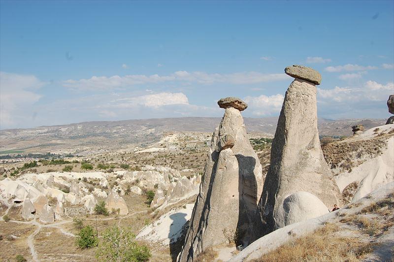 【カッパドキア】三姉妹の岩