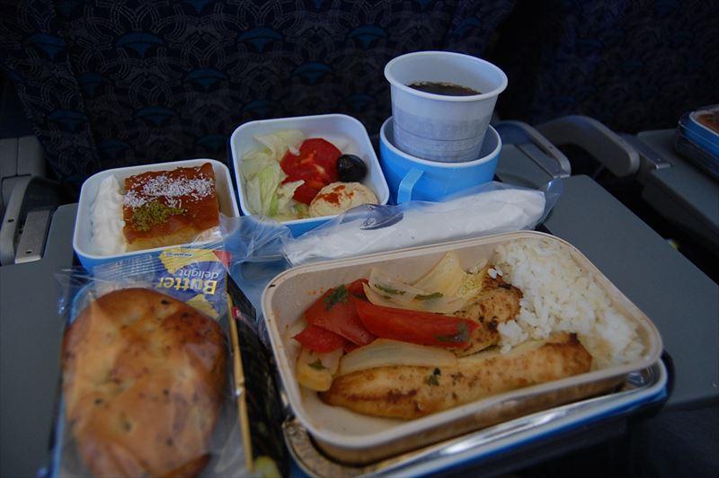【エジプト航空】イスタンブール⇒カイロ