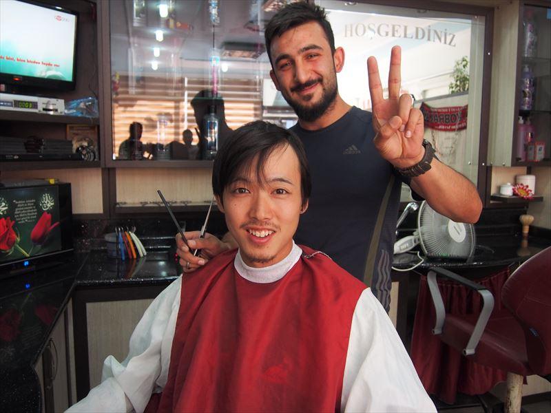 【ワン】散髪
