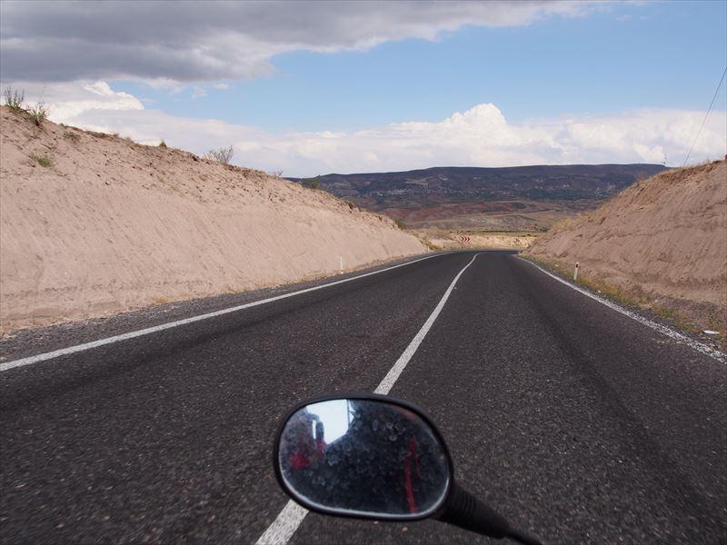【カッパドキア】バイクで観光