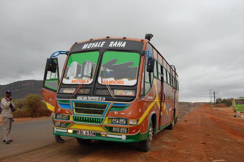 【ケニア】モヤレ⇒マルサビット