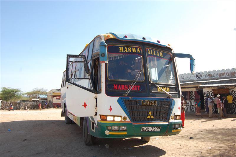 【ケニア】マルサビット⇒イシオロ