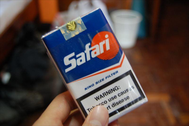 【ナイロビ】たばこ