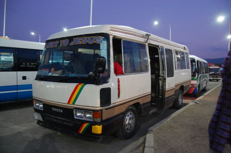 【タンザニア】ナネナネ⇒マラウィ国境