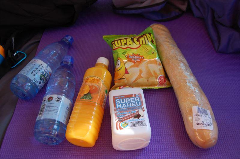 【リロングウェ】スーパーで買った食料