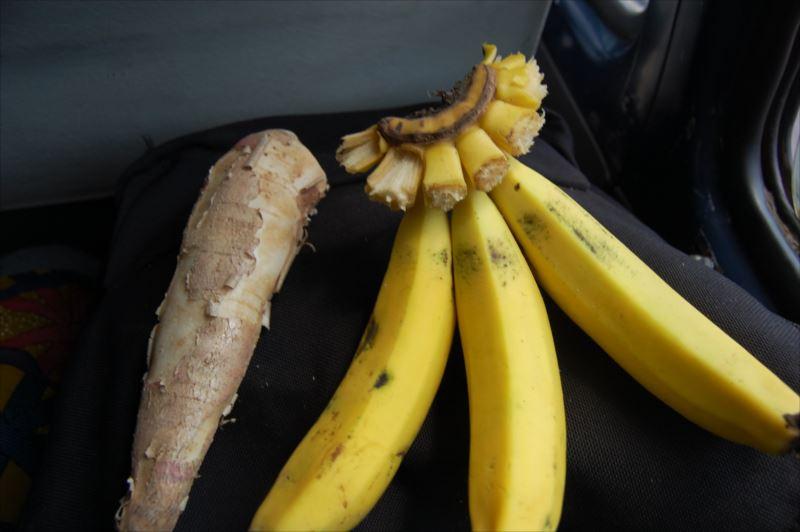 【ムズズ】バナナとキャッサバ