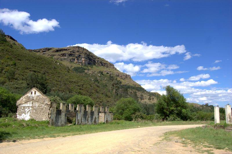【南アフリカ】ドラケンスバーグ山脈入口