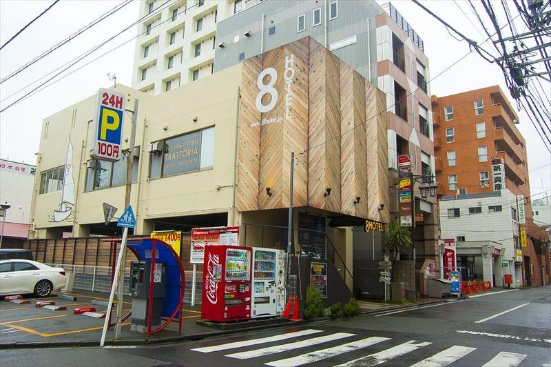 【8hotel】外観