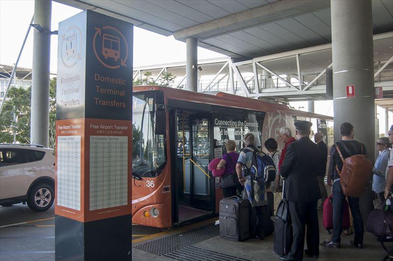 【ブリスベン】空港のシャトルバス