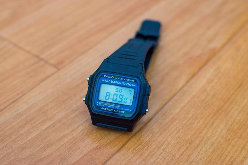 「海外旅行・世界一周の腕時計に!「チープカシオ(チプカシ)」のコスパが抜群でした!」のアイキャッチ画像