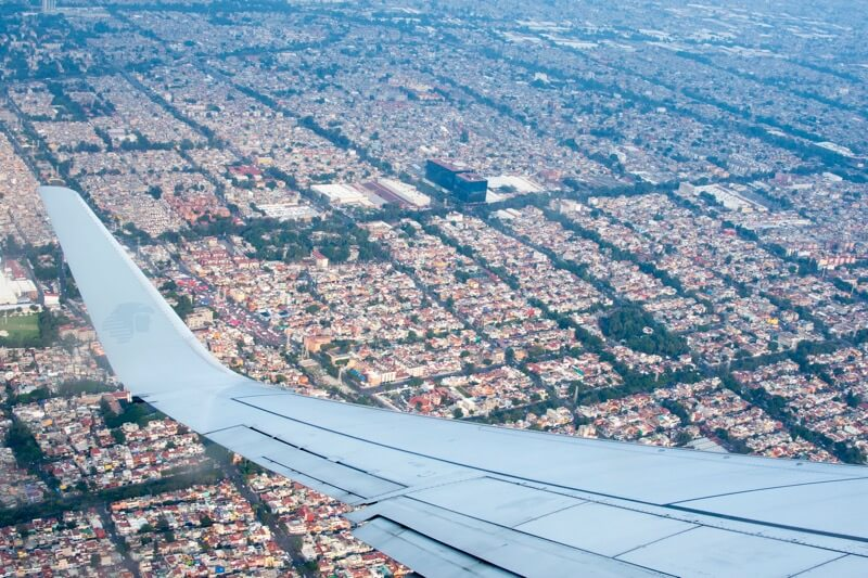 【アエロメヒコ】メキシコシティ→ハバナ線