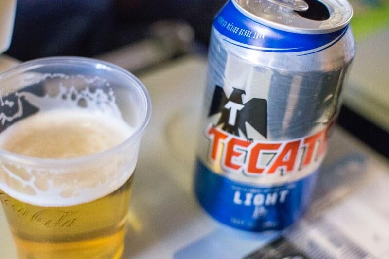 「【アエロメヒコ】メキシコシティ→ハバナ線の機内食とかを簡単に」のアイキャッチ画像