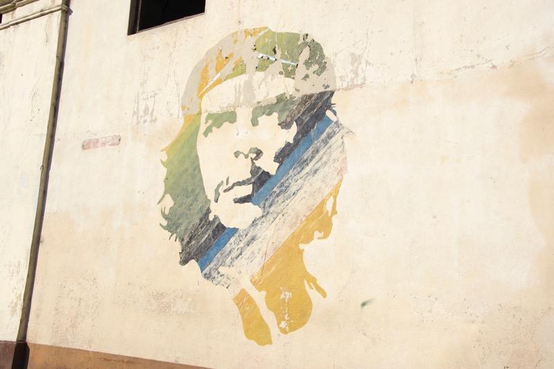 【ハバナ】チェ・ゲバラの壁画