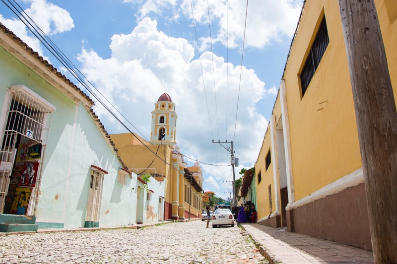 【キューバ】トリニダーの街並み