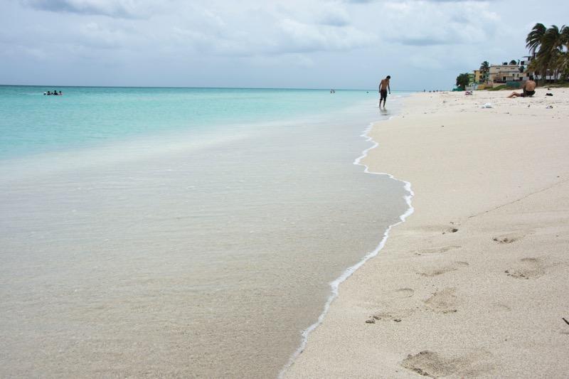 【キューバ】バラデロの海