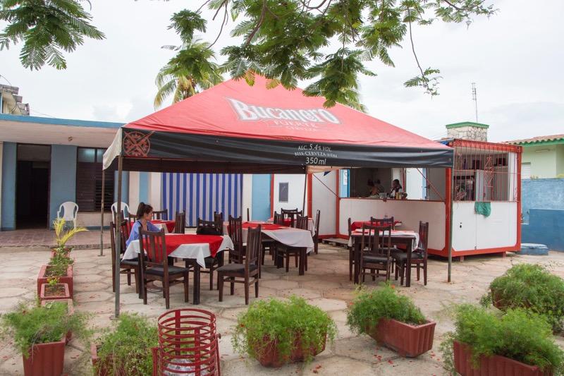 【キューバ】バラデロのレストラン