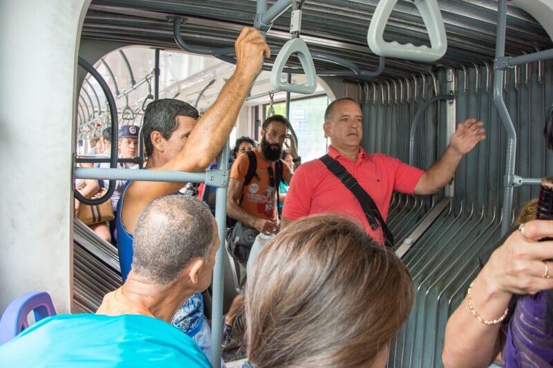 【ハバナ】旧市街→空港のバス