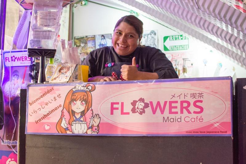【メキシコシティ】メイドカフェ
