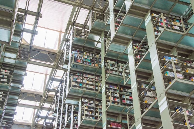 【メキシコシティ】空中図書館