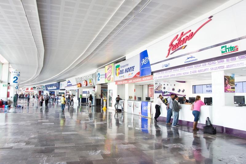【メキシコシティ】北バスターミナル