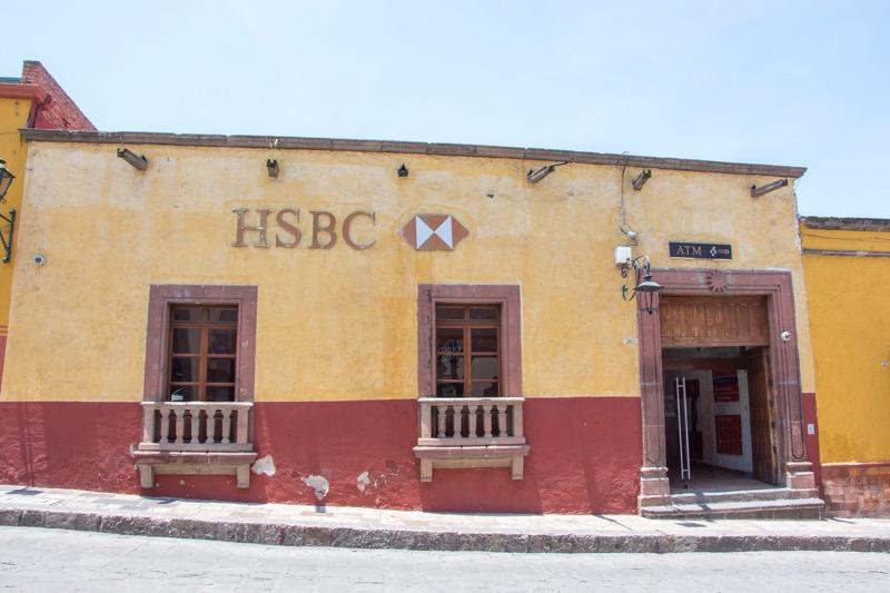 【メキシコ】サンミゲル・デ・アジェンデの銀行