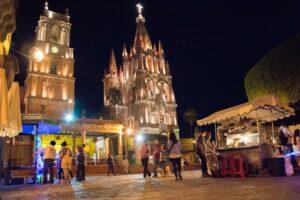 【メキシコ】サンミゲル・デ・アジェンデの夜