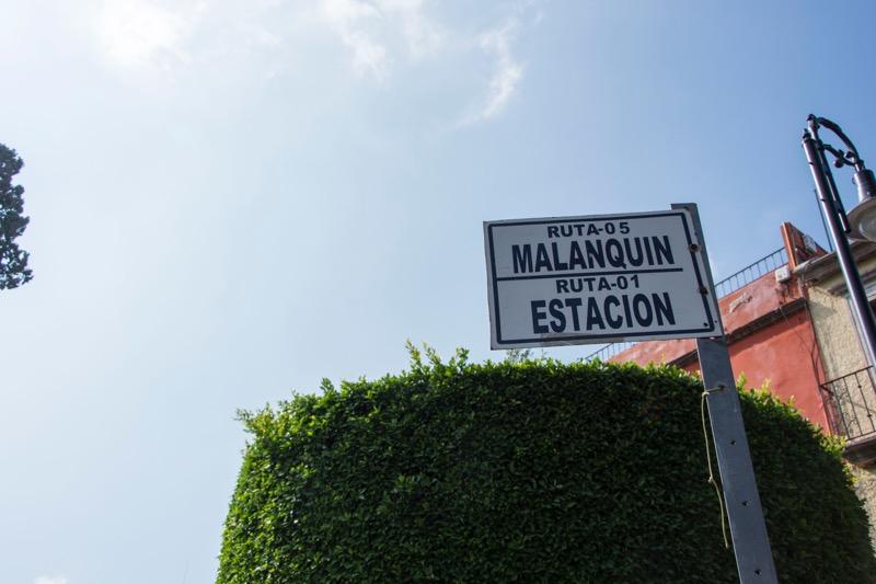 【メキシコ】サンミゲル・デ・アジェンデの市バス乗り場