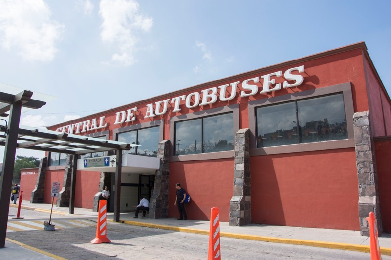 【メキシコ】サンミゲル・デ・アジェンデのバスターミナル