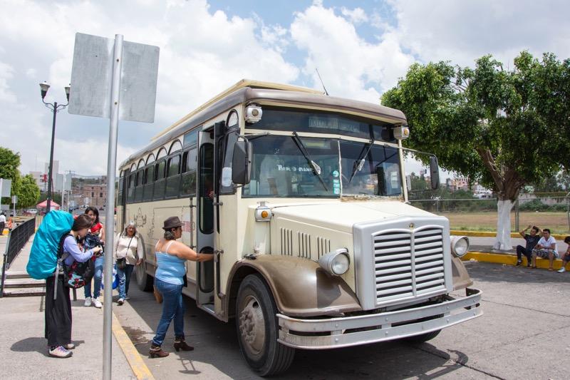 【メキシコ】グアナファトのローカルバス