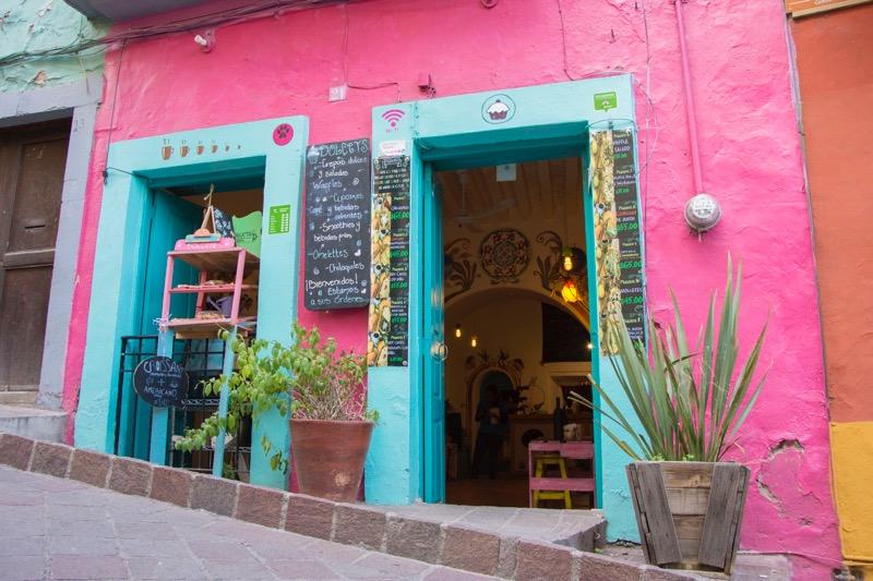 【メキシコ】グアナファトの街並み
