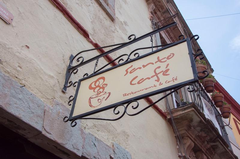 【メキシコ】グアナファトのカフェ「サントーカフェ」