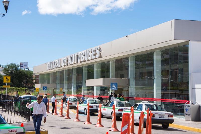 【グアナファト】バスターミナル