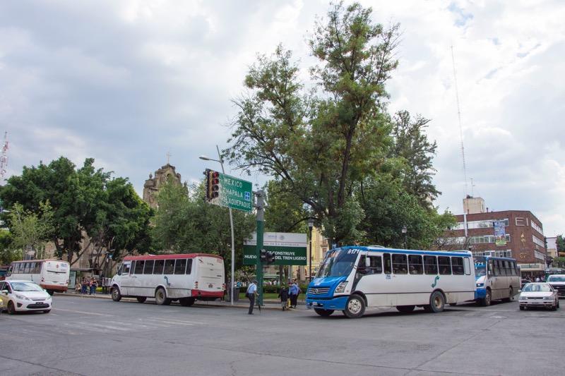 【グアダラハラ】セントロ行き市バス