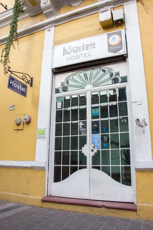 【グアダラハラの安宿】Hostel Hospedarte Centro