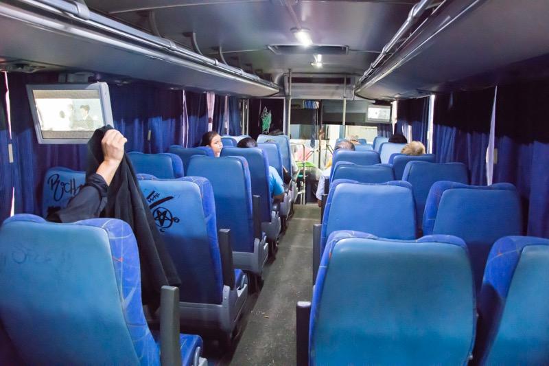 【メキシコ】グアダラハラ→テキーラ村のバス
