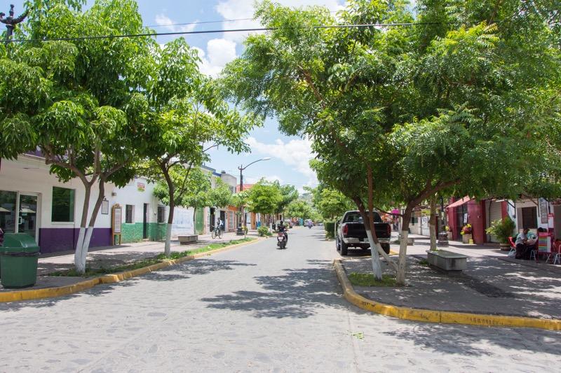 【メキシコ】テキーラ村の街並み