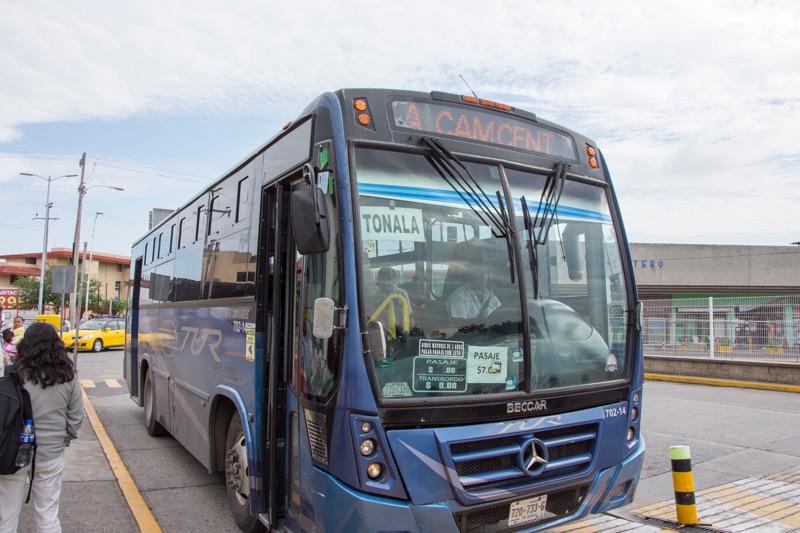 【グアダラハラ】「TUR」バス