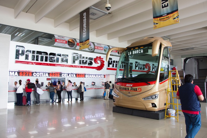 【グアダラハラ】バスターミナル