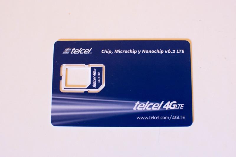 【メキシコ】 SIMカード【telcel】